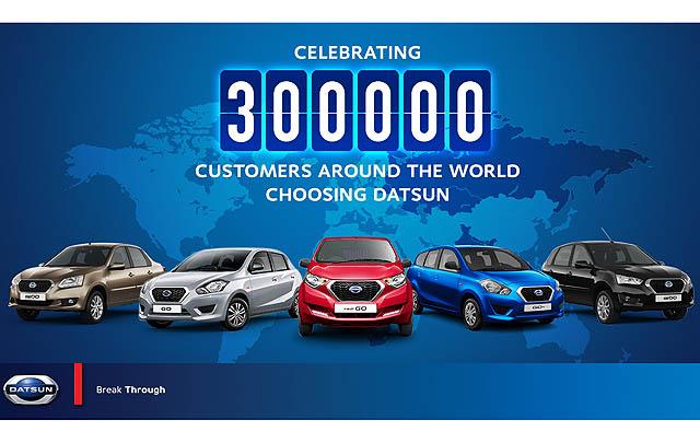 Datsun Capai Penjualan 300 Ribu Unit di Dunia