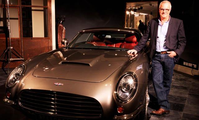 David Brown Automotive Luncurkan Mobil Retro 'Speedback'