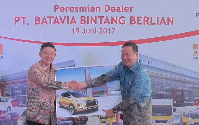 Gandeng DETA Group, MMKSI Resmikan Dealer ke-90