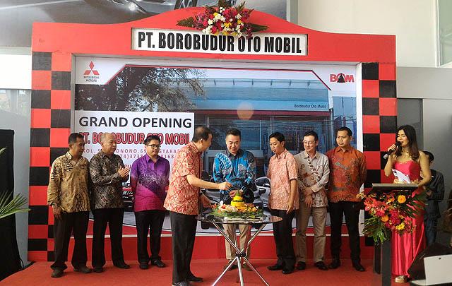 Mitsubishi Resmikan Dealer Kendaraan Penumpang ke-91 di Yogyakarta
