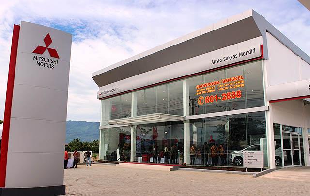 Perluas Jangkauan Layanan, Mitsubishi Resmikan Dealer di Aceh