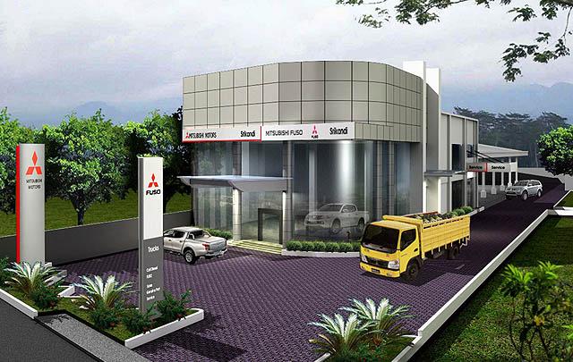 Mitsubishi Resmikan Dealer Kendaraan Niaga di Bojonegoro
