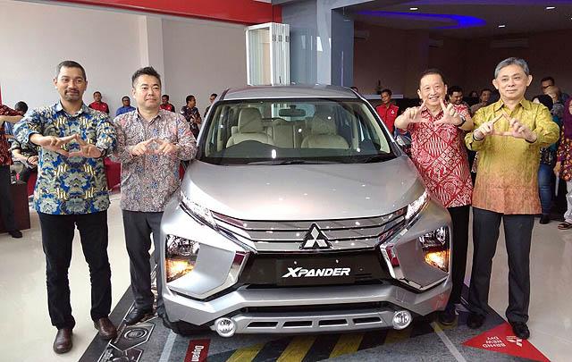 Mitsubishi Motors Tambah Dua Dealer Kendaraan Penumpang  di Kaltim