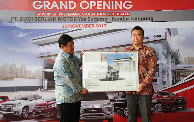 Penuhi Kebutuhan Pelanggan, Mitsubishi Tambah Dealer di Lampung