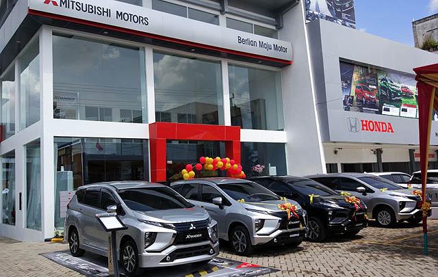 Mitsubishi Buka Dealer Kendaraan Penumpang Pertama di Lubuk Linggau