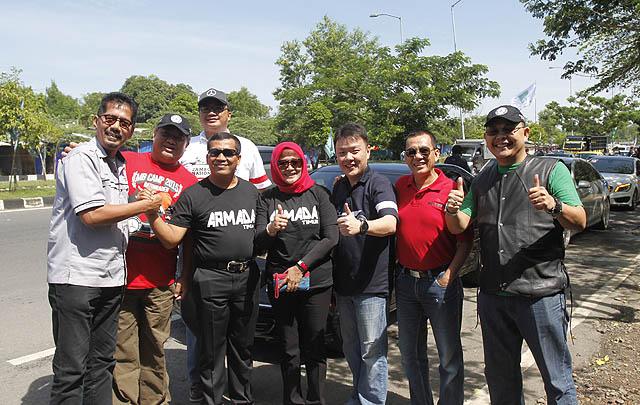 Defile ke Jembatan Suramadu Buka Jamnas MB Club INA ke-11