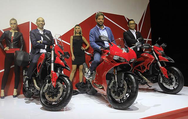 Ducati Perkenalkan Empat Produk Terbaru di GIIAS 2016