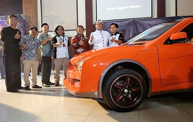 Ini Dia Evhero, Mobil Listrik Buatan Bandung