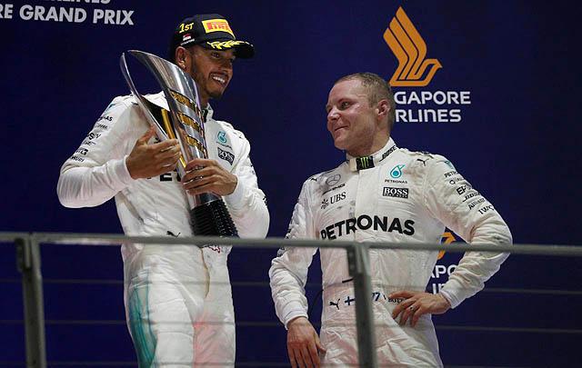 Lewis Hamilton Jadi Jawara F1 Singapura 2017