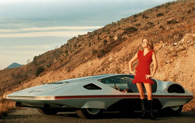 Konsep Retro Unik: Ferrari 512S Modulo 1970