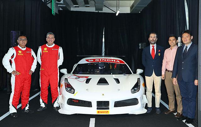 Ferrari Jakarta Kirimkan 3 Mobil & 5 Pebalap di Ferrari Challenge 2018