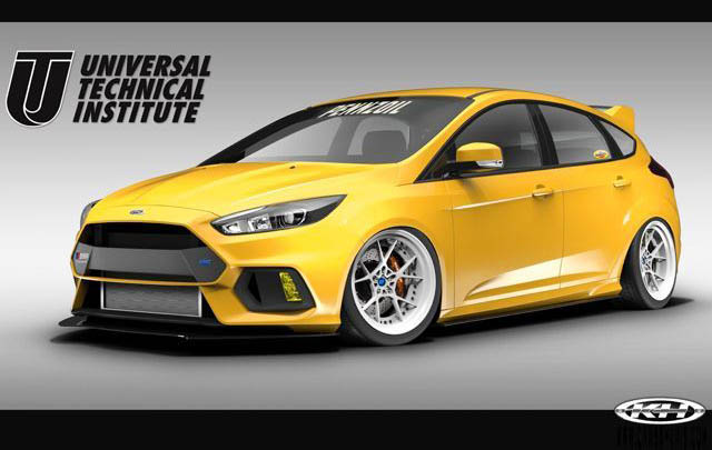 Ford Siapkan Empat Modifikasi Focus Terbaru di SEMA Show 2017