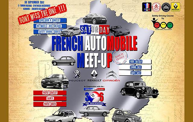 'Saturday French Automobile Meet-Up 2017' Segera Digelar