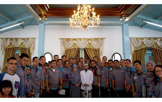 Rayakan HUT Kedua, GCI Gelar 'Touring Budaya' ke Cirebon
