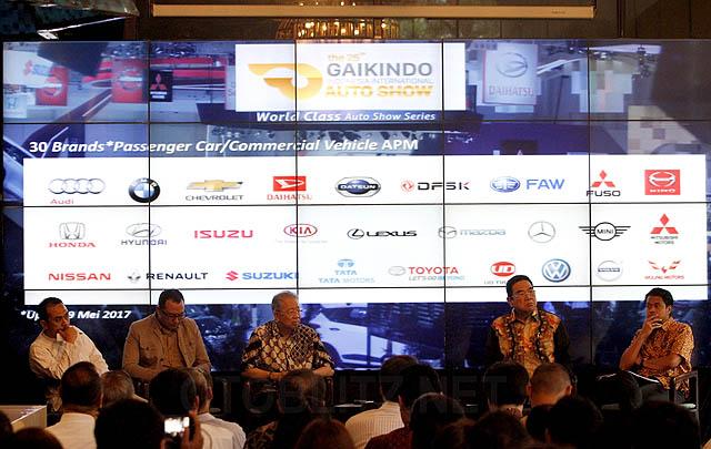 Usung Tema 'Rise of the Future Mobility', GIIAS 2017 Siap Digelar