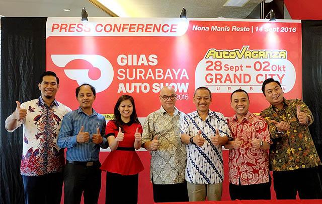 GIIAS Surabaya Auto Show 2016 Siap Digelar