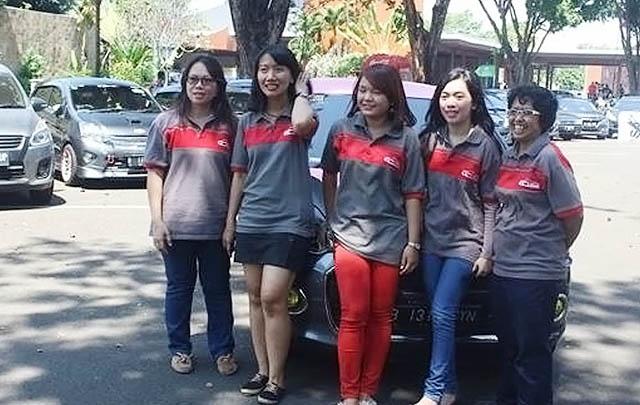 Meriah, 80 Member Padati Halal Bihalal Grey Car Indonesia
