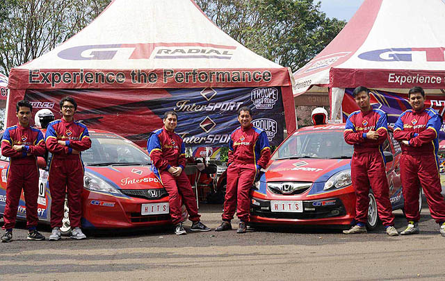 Hercules Intersport Troupe Team Raih Podium di INCS 2016 Putaran 6