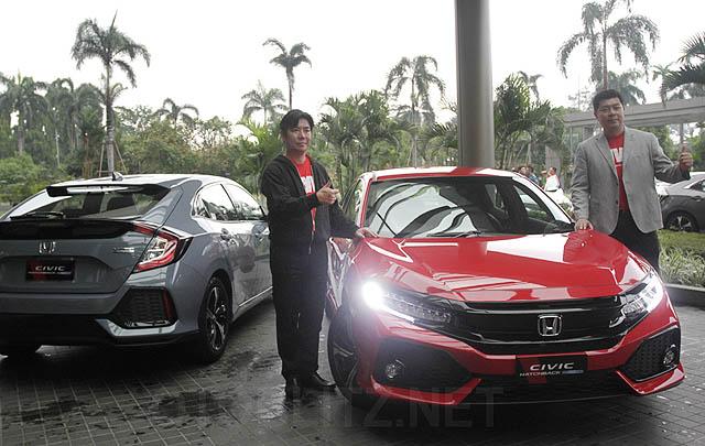 HPM Ajak Media Jajal Civic Hatchback Turbo Terbaru