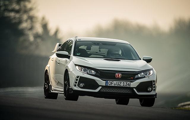 All New Honda Civic Type R Kembali Cetak Rekor Tercepat di Nürburgring