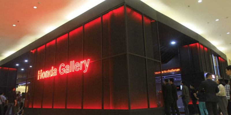 Inovasi Honda Gallery Dapatkan Penghargaan