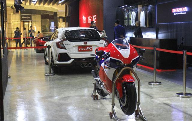 Honda Gallery, Pamerkan Kekuatan Honda