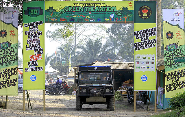 Usung Tema 'Green The Nation', HUT ke-30 LRCI Berlangsung Meriah