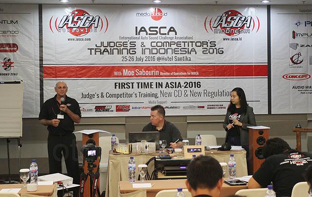 IASCA Indonesia Gelar 'Judge's & Competitor's Training Indonesia 2016'