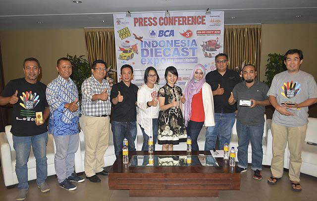 Berlangsung Dua Hari, Indonesia Diecast Expo 2016 Sukses Digelar