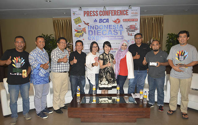 Indonesia Diecast Expo 2016 Segera Digelar