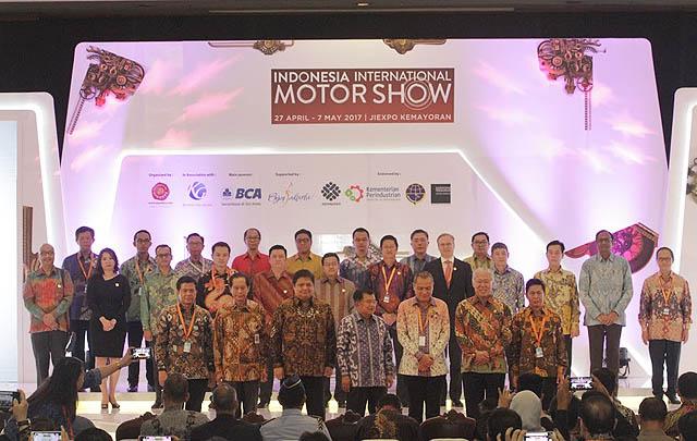 IIMS 2017 Resmi Dibuka Wapres Jusuf Kalla