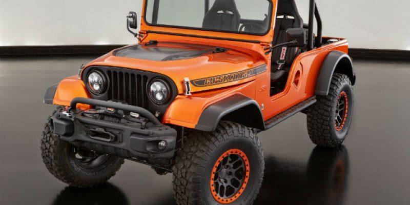 FIRST LOOK | Jeep CJ66 Concept: Membangkitkan Nostalgia CJ Klasik
