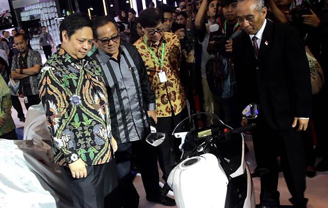 Indonesia Motorcycle Show 2016 Resmi Dibuka