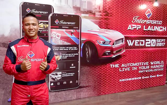 Intersport Apps, Hadirkan Pengalaman Autosport