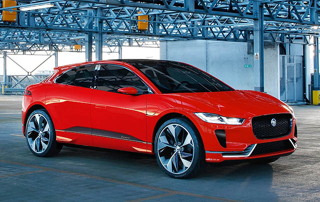 Jaguar I-Pace Raih Gelar 'Most Significant Concept Vehicle'