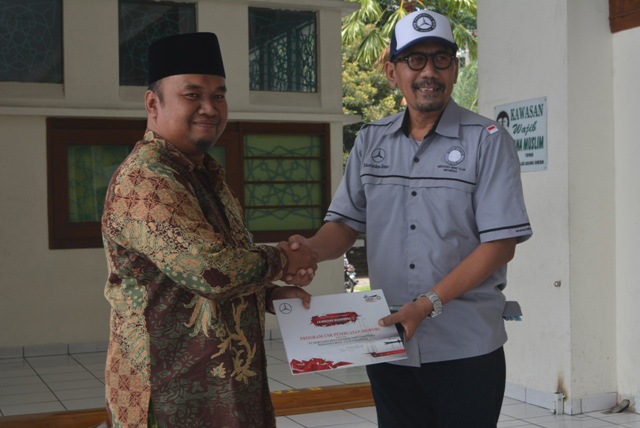 Awali Rangkaian Jamnas ke-11, MB Club INA Gelar Program Charity