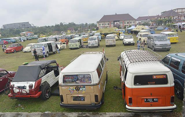 Jamnas Volkswagen Indonesia ke-48 Sukses Digelar