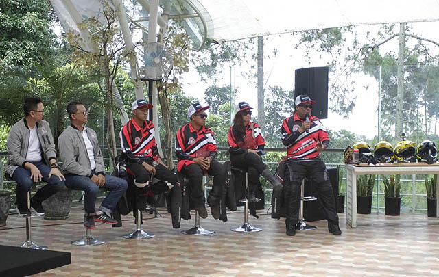 4 Riders Sukses Selesaikan 'Jelajah Tangguh Sabang-Bandung'