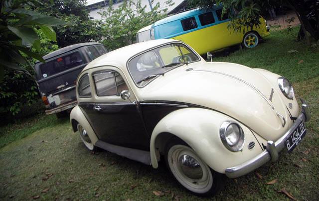 Kebon VW, Bengkel VW Bernuansa Asri