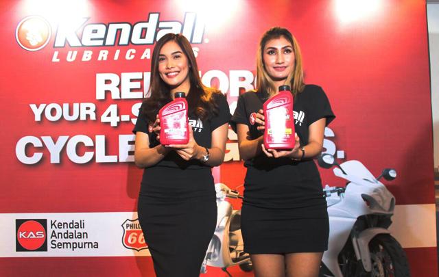 3 Pelumas Terbaru Diperkenalkan Kendall Motorcycle Oil