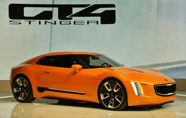Ini Dia Wujud Kia GT4 Stinger Concept