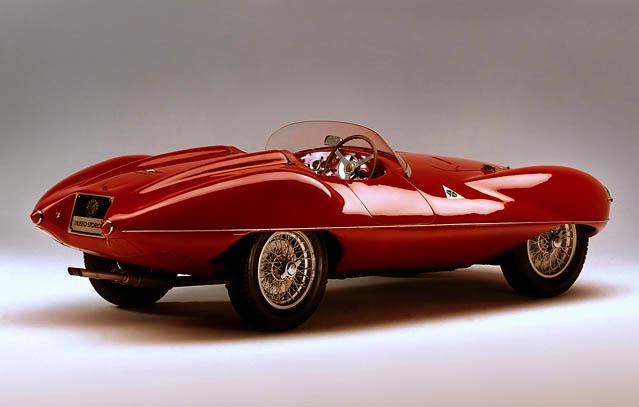 Alfa Romeo Disco Volante >> Klasik Dan Langka Alfa Romeo Disco Volante 1952 Otoblitz