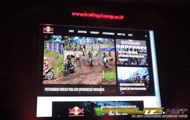 Tetap Eksis di Otomotif, Kratingdaeng juga Luncurkan Website Resmi