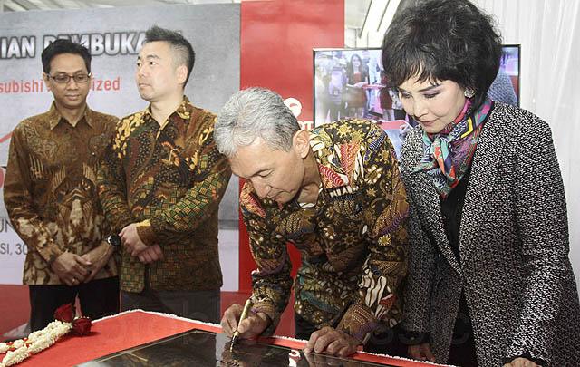 KTB Resmikan Fasilitas Bodi & Cat Berstandar Mitsubishi Pertama di Jabodetabek