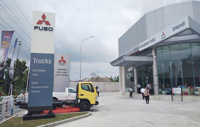Targetkan Dominasi Pasar, Mitsubishi Fuso Perkuat Jaringan Dealer di Bojonegoro