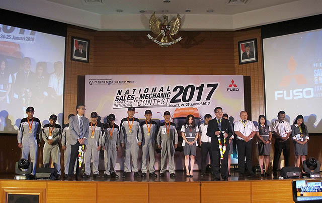 KTB Fuso Nobatkan Tenaga Penjual & Mekanik Terbaik 2017