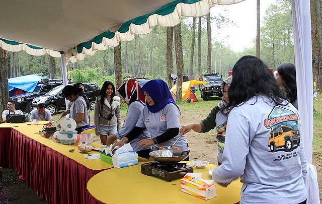 Sambut Pergantian Tahun, KTI Gelar Gathering di Cikole