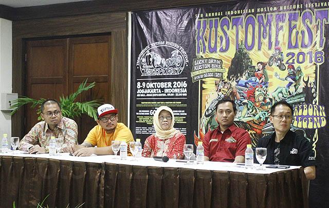 Usung Tema 'Reborn Legend', Kustomfest 2016 Sukses Digelar