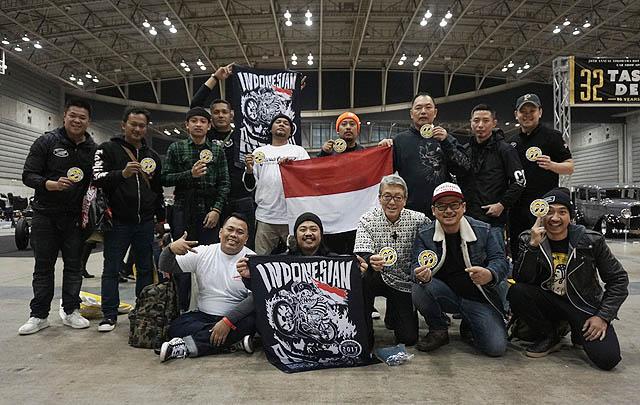 Builder Indonesia Raih Dua Penghargaan di Yokohama Hot Rod Custom Show