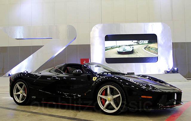 LaFerrari Aperta Ramaikan HUT ke-70 Ferrari di Jakarta